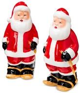 Threshold Salt and Pepper Shaker Set Ceramic Santa