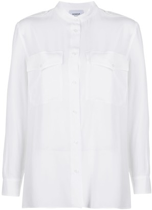 Dondup Double Chest Pocket Oversized Shirt