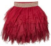 Cotton On Tori Tulle Skirt (Little Kids/Big Kids) (Berry Gradient) Girl's Skirt