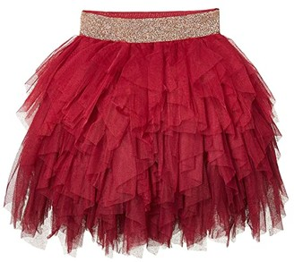 Cotton On Tori Tulle Skirt (Little Kids/Big Kids) (Berry Gradient) Girl's Skirt