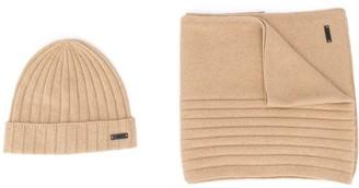 HUGO BOSS Two-Piece Cashmere Scarf Set
