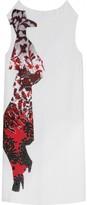Yves Saint Laurent SILK DRESS WITH SIGNATURE ILLUSTRATION