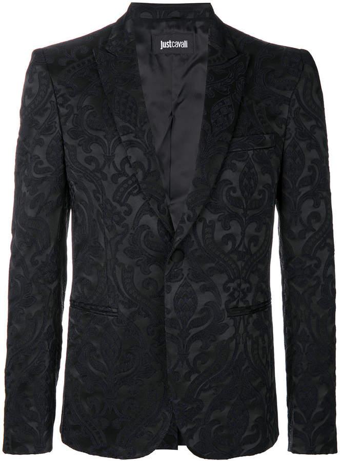 Just Cavalli brocade blazer