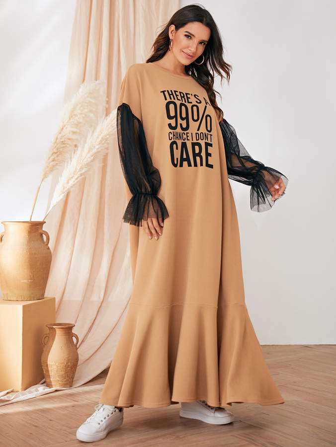 52dc9f4648e7 Slogan Dress - ShopStyle