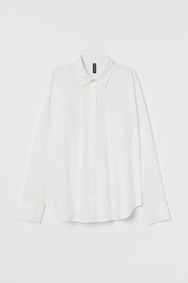 H&M Boxy cotton shirt