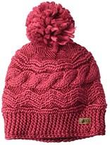 Roxy Winter Beanie (Beet Red) Beanies