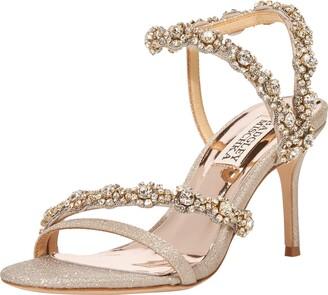 Badgley Mischka Women's Ankle Strap Heeled Sandal