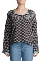 DAY Birger et Mikkelsen Printed Long-Sleeve Top