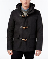 Club Room Men's Hooded Toggle Coat, Only at Macy's