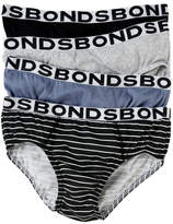 Bonds Underwear 4 Pack Brief Mix