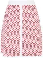 Sandro Knitted Diamond Mini Skirt