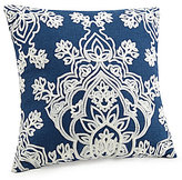 Jessica Simpson Grace Medallion-Embroidered Square Pillow