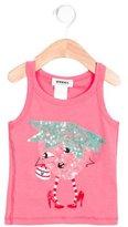 Rykiel Enfant Girls' Sequin-Embellished Racerback Top