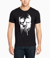 William Rast Black Skull Of Drips Short-Sleeve Graphic T-Shirt