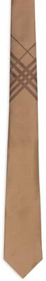 Burberry Silk Check Detail Tie