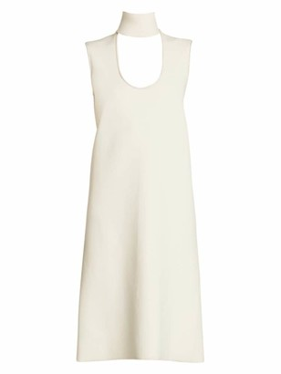 Bottega Veneta Highneck Cutout Sleeveless Dress