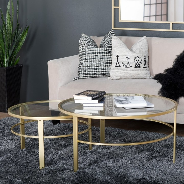 Round Nesting Tables Shop The World S Largest Collection Of Fashion Shopstyle