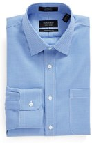 Nordstrom Men's Traditional Fit Non-Iron Micro Houndstooth Dress Shirt