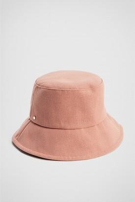 Witchery Linen Blend Bucket Hat