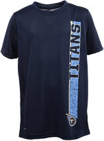 adidas Boys' Tennessee Titans Shatter Text Dri-Tek T-Shirt