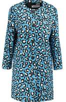 Love Moschino Printed Cotton-Blend Coat