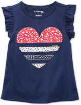 First Impressions Graphic-Print Cotton T-Shirt, Baby Girls (0-24 months), Only at Macy's