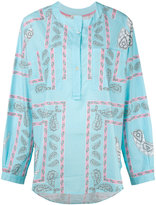 Natasha Zinko printed shirt top - women - Cotton - 32