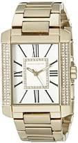 Vince Camuto Women's VC/5254SVGB Swarovski Crystal Accented Gold-Tone Bracelet Watch