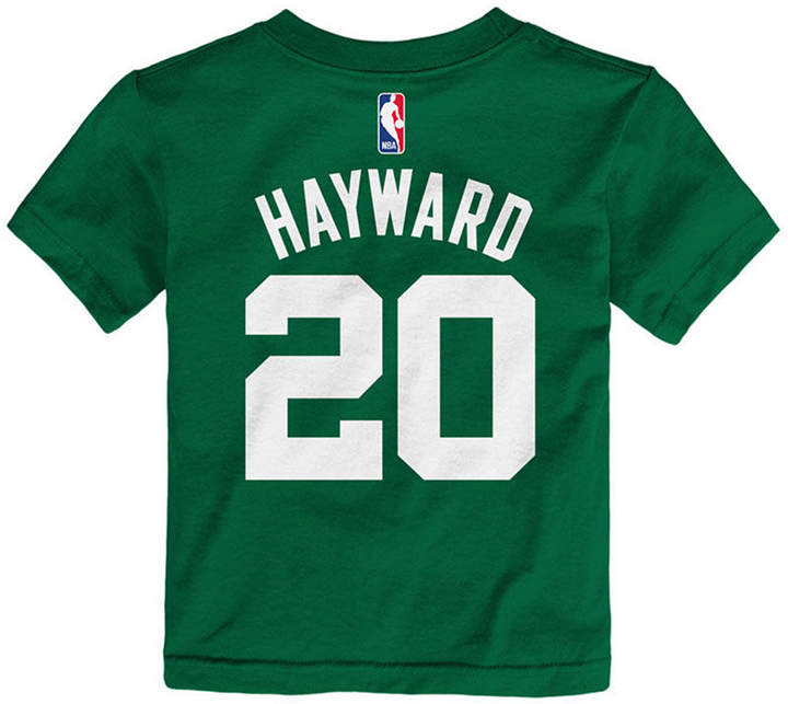 super popular 52f94 3d2ab Gordon Hayward Boston Celtics Replica Name & Number T-Shirt, Toddler Boys  (2T-4T)