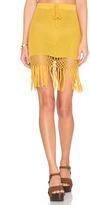 MinkPink Adore You Fringe Skirt