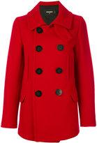 DSQUARED2 Kaban coat - women - Polyamide/Polyester/Virgin Wool - 36