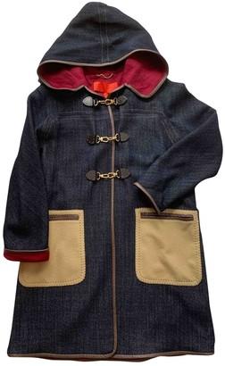 Tommy Hilfiger Blue Wool Coat for Women