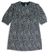 Bonpoint Little Girl's & Girl's Polka Dot Long-Sleeve Cotton Dress
