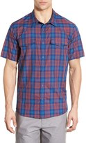 Patagonia Men's 'Bandito' Slim Fit Plaid Short Sleeve Sport Shirt