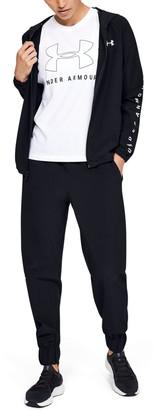 Under Armour Women's UA Woven Branded Full Zip Hoodie