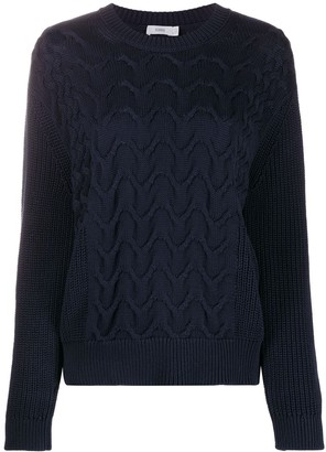Closed Chunky Cable Knit Jumper