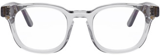 Thierry Lasry Grey and Tortoiseshell Dystopy 850 Glasses