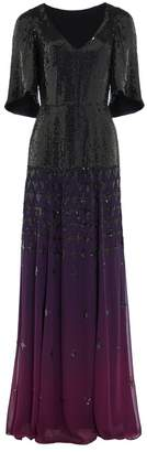 Temperley London Mirela V-Neck Dress