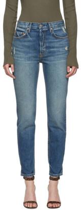 GRLFRND Blue Karolina Jeans