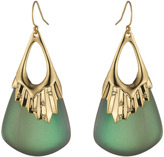 Alexis Bittar Crystal Studded Pleated Wire Earring