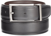 Perry Ellis Men's Big & Tall Reversible Leather Belt