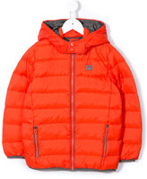 Armani Junior hooded down jacket
