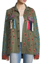Libertine Love Embellished Army Jacket