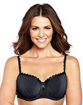 Shapely Figures 2 Pack Olivia Balcony Black/White Bras