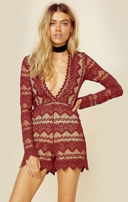 Nightcap Clothing PLUNGING V SIERRA ROMPER | Sale