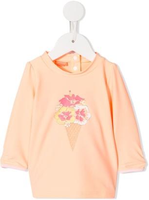 Sunuva Flower-Print Top