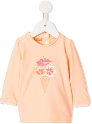 Sunuva Flower-Print Top