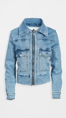 Jordache Roll Collar Jacket
