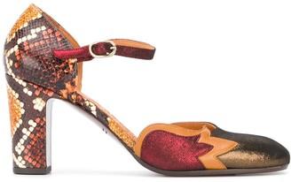 Chie Mihara Waban block heel pumps