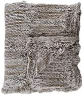 Adrienne Landau Fur Throw